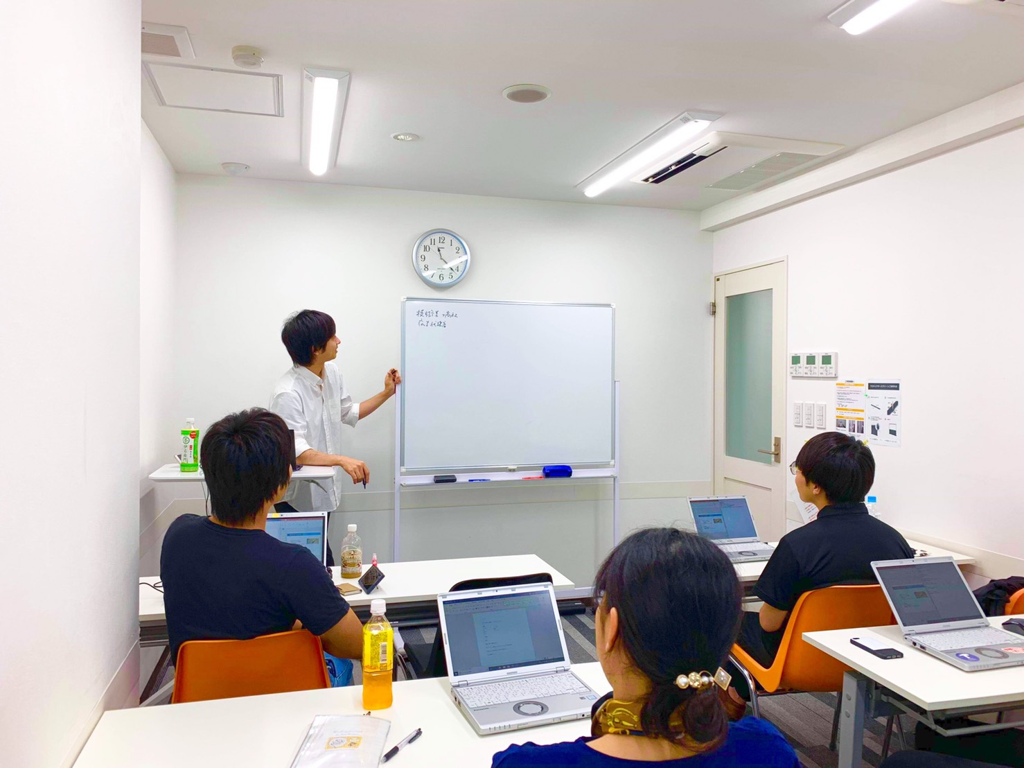 学生インターン向け営業研修開催しました