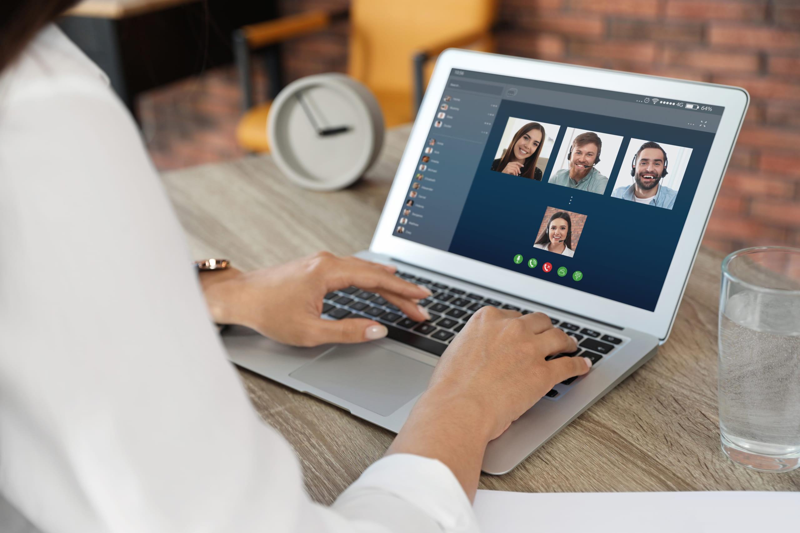 テレワーク・オンライン会議Zoom用、オリジナル背景画像作成します