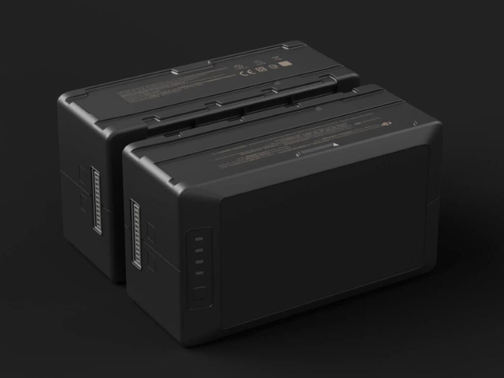 DJI MATRICE 300 RTKは大型バッテリーを搭載
