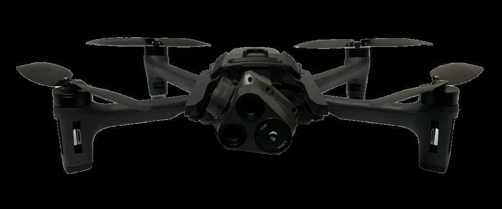 FLIR製 32倍Zoomカメラ搭載と高いセキュリティを備えた軍事用ドローン「ANAFI USA」