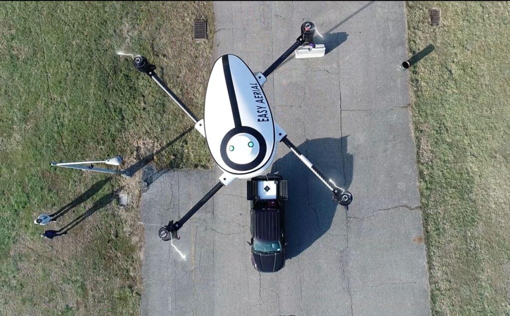 米国Easy Aerial社の業務用ドローン、ファルコンとオスプレイを比較